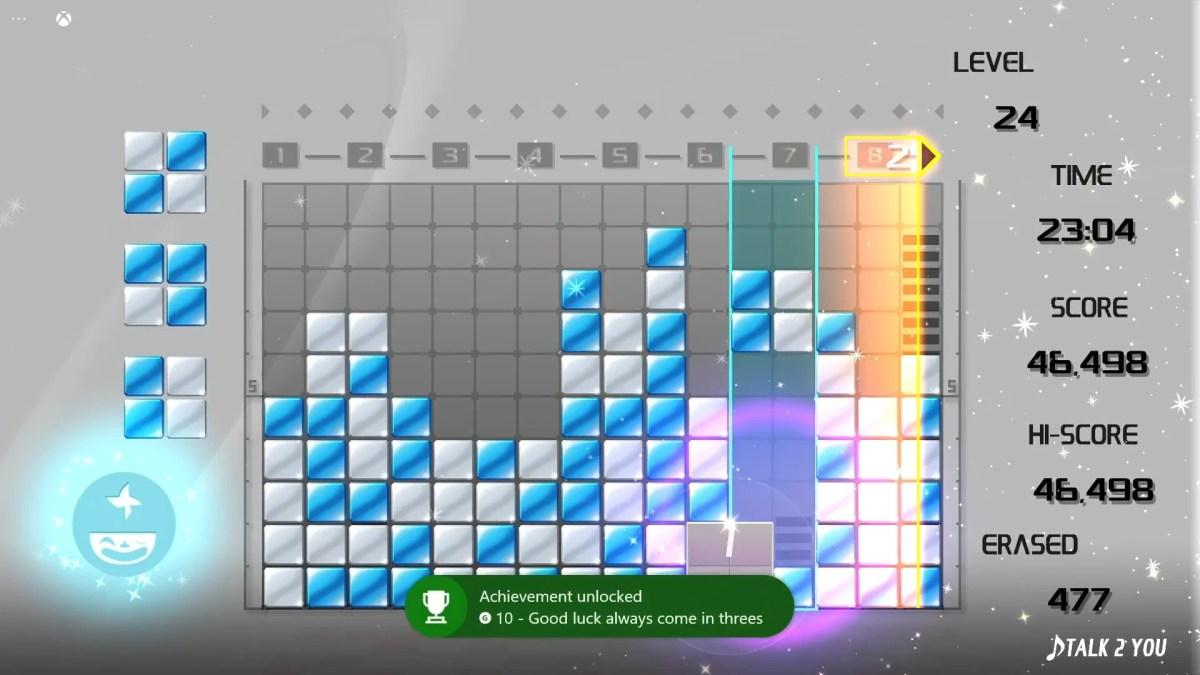 Lumines Remasterd Xbox Cloud Screenshot 06