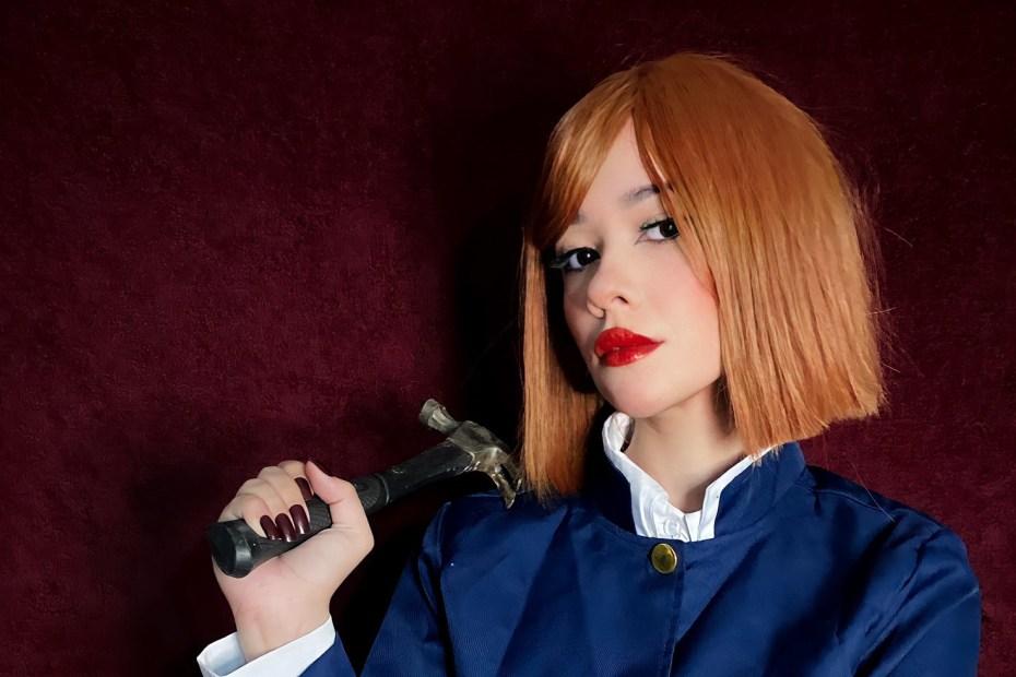 Nobara Cosplay - Jujutsu Kaisen - Carolina Lima Capa 02
