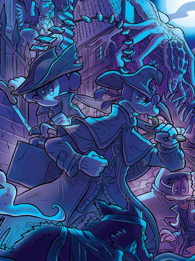 Bloodborne e Overwatch com personagens da Disney