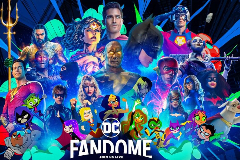 DC Fandome Capa