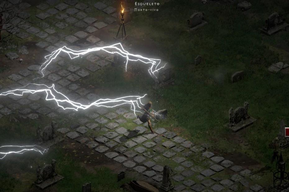Diablo II - PC Screenshot Progressão - Derrotando a Rapina Sangrenta Capa