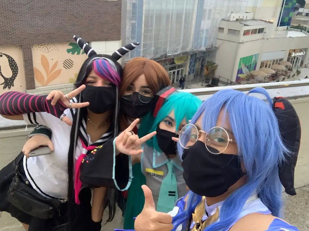 Encontro de cosplayers - Genshin Impact, Hatsune Miku e mais - 01
