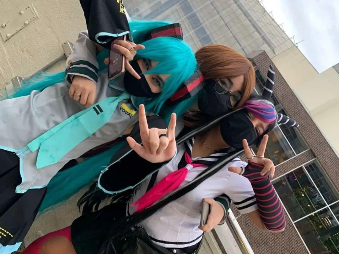 Encontro de cosplayers - Genshin Impact, Hatsune Miku e mais - 02