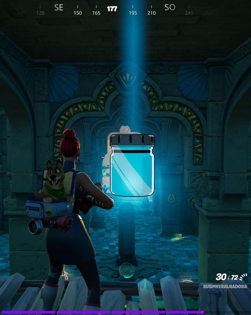 Fortnite - Encontrando frascos de cor Azul Congelado 3 de 3 Imagem 06