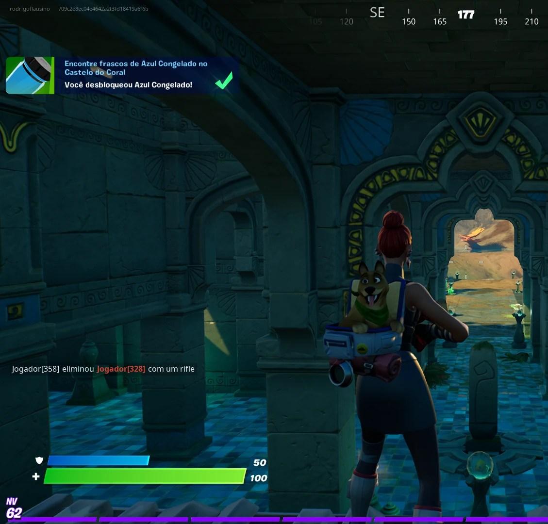 Fortnite - Encontrando frascos de cor Azul Congelado 3 de 3 Imagem 07