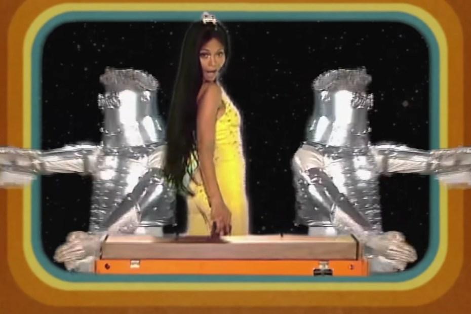 Guardiões da Galáxia Zoe Saldana Clipe Retrô