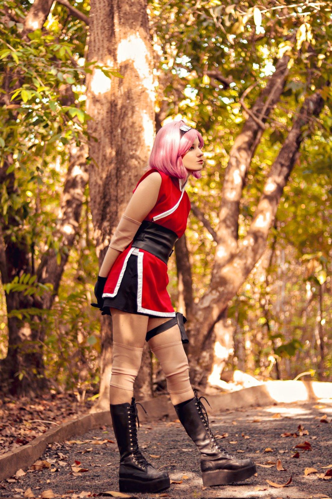Sakura Haruno Cosplay - Naruto - Yuzarus 01