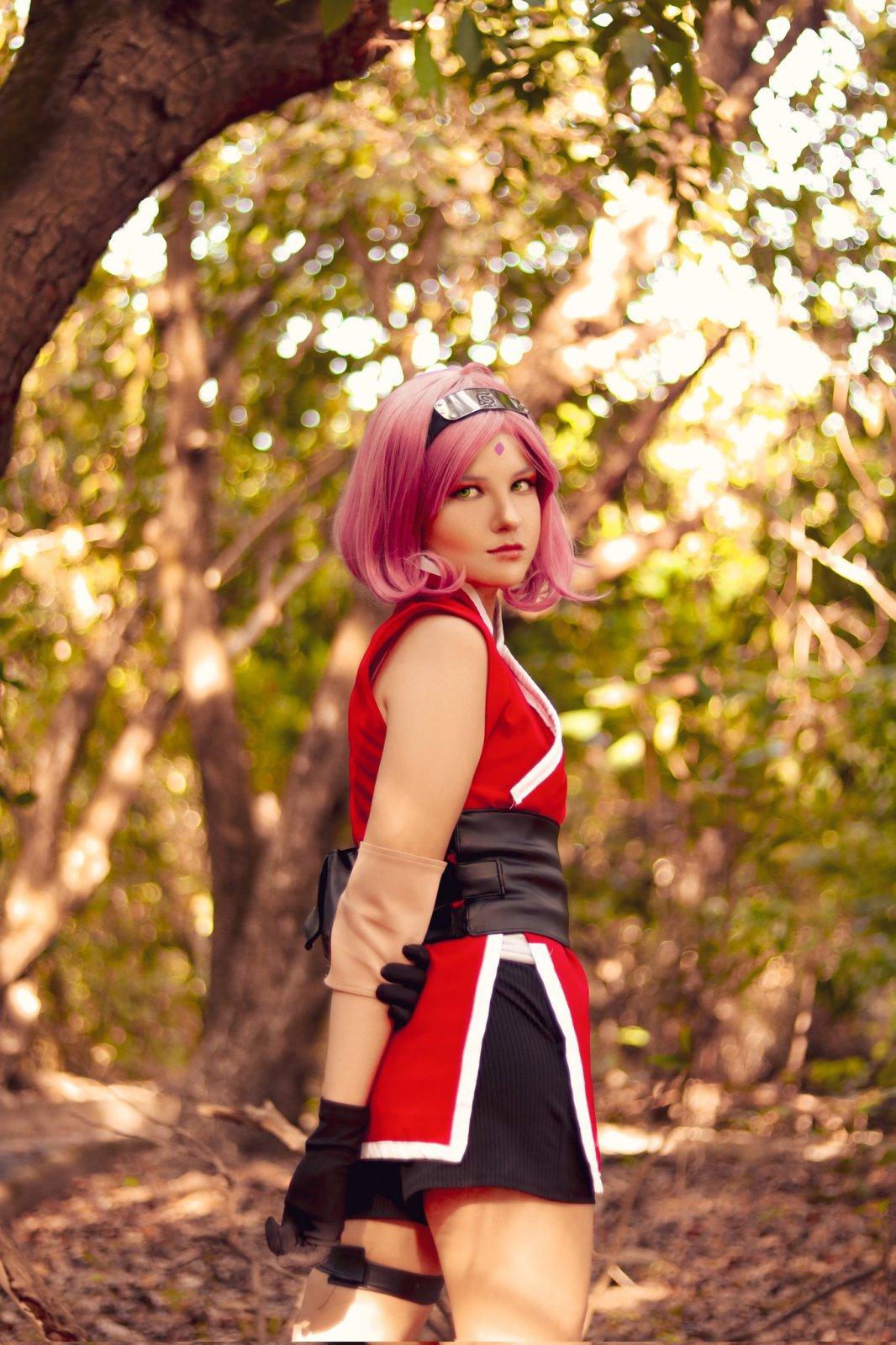 Sakura Haruno Cosplay - Naruto - Yuzarus 02