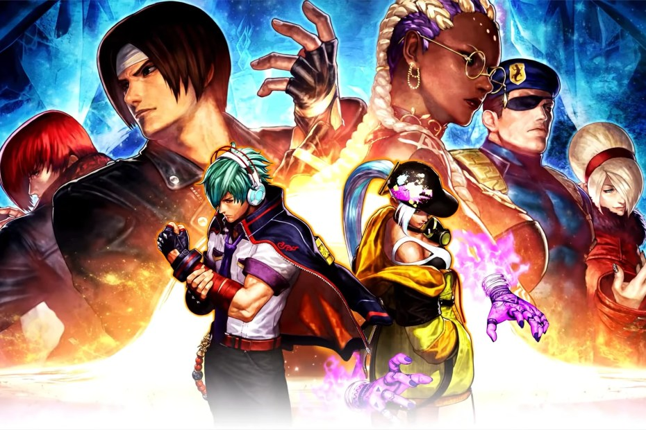 The King of Fighters XV Wallpaper Personagens
