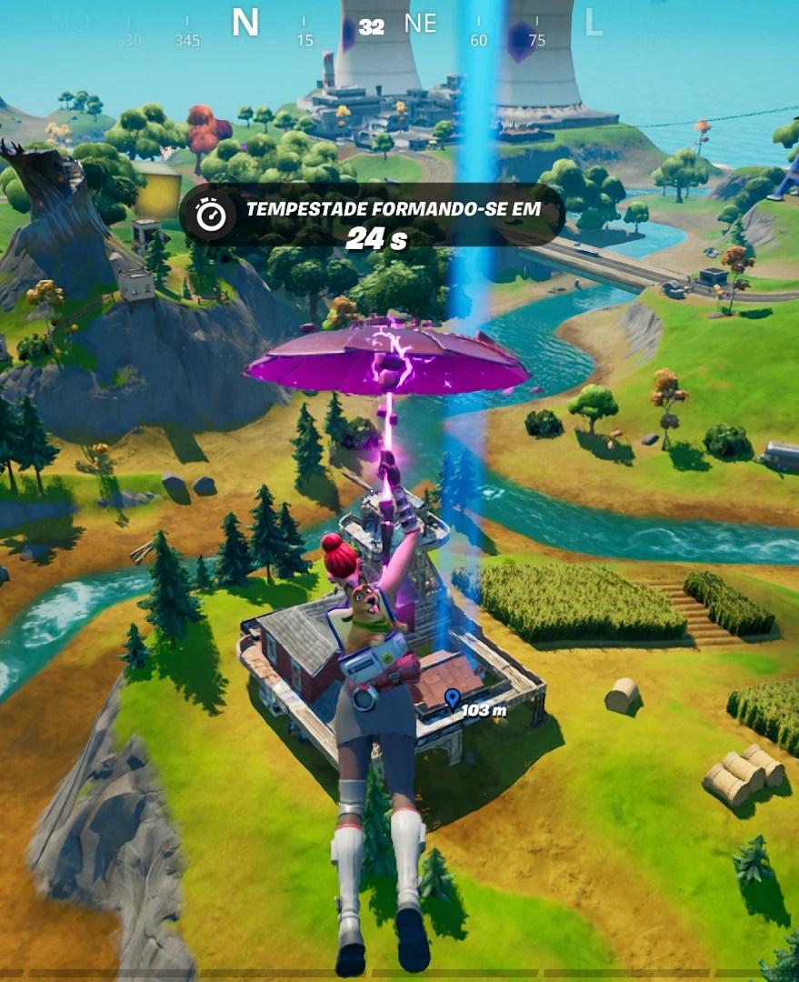 Veja onde achar a Fazenda do Aço em Fortnite 02