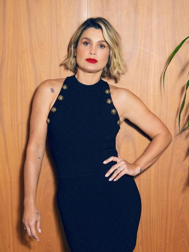 Looks de Flavia Alessandra com vestidos
