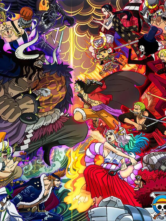 One Piece: Arte oficial do Episódio 1000