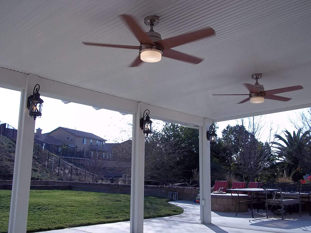 wood patio covers vs duralum aluminum