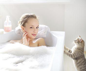 Prenez un bain chaud aux sels d'Epsom