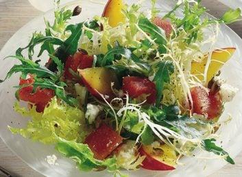 4. Salade mélangée de melon