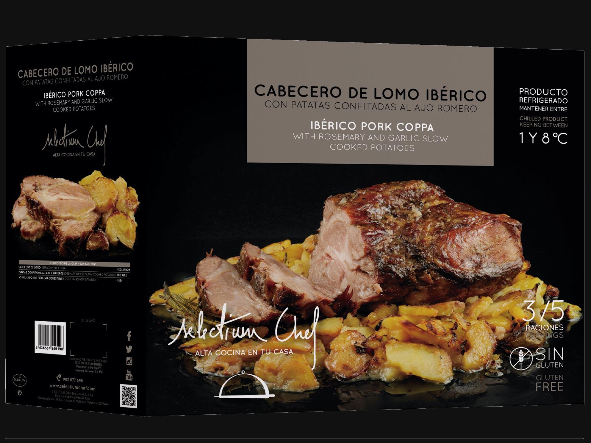 Cebecero de lomo ibérico Selectium Chef