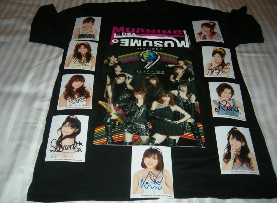 Autographs, T-shirt, Visual Photo Book