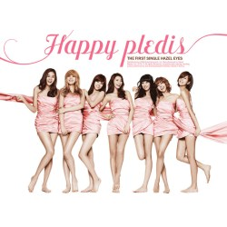 After School Happy Pledis 1st Album
