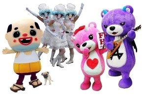 RMMS-J-Pop-Summit-2015-Go-Torch-Mascots