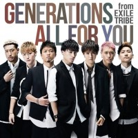 GENERATIONS ALL FOR YOU Cover