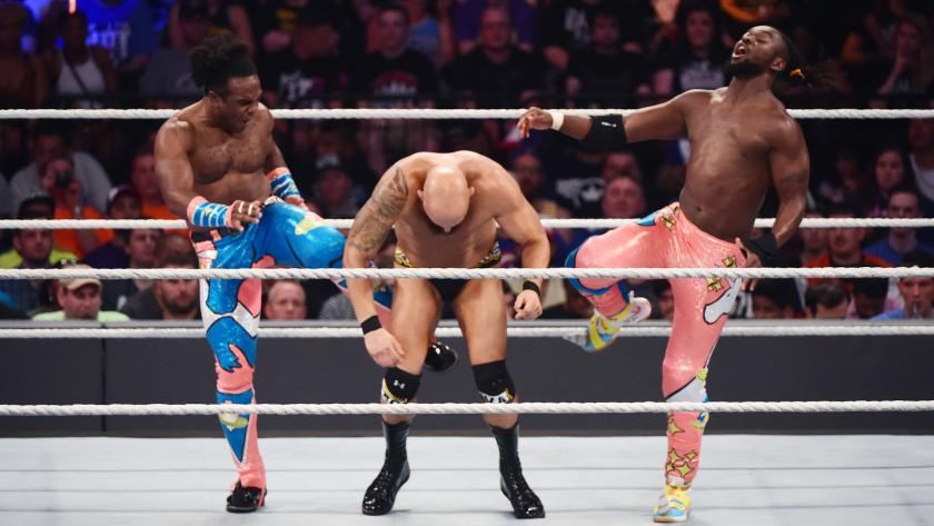 Summerslam New Day Gallows Anderson