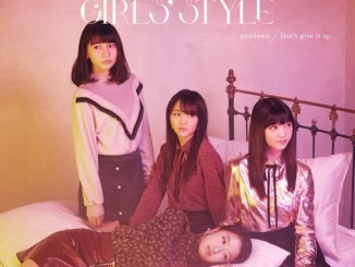 Tokyo Girls Style predawn Don't Give It Up CD Cover