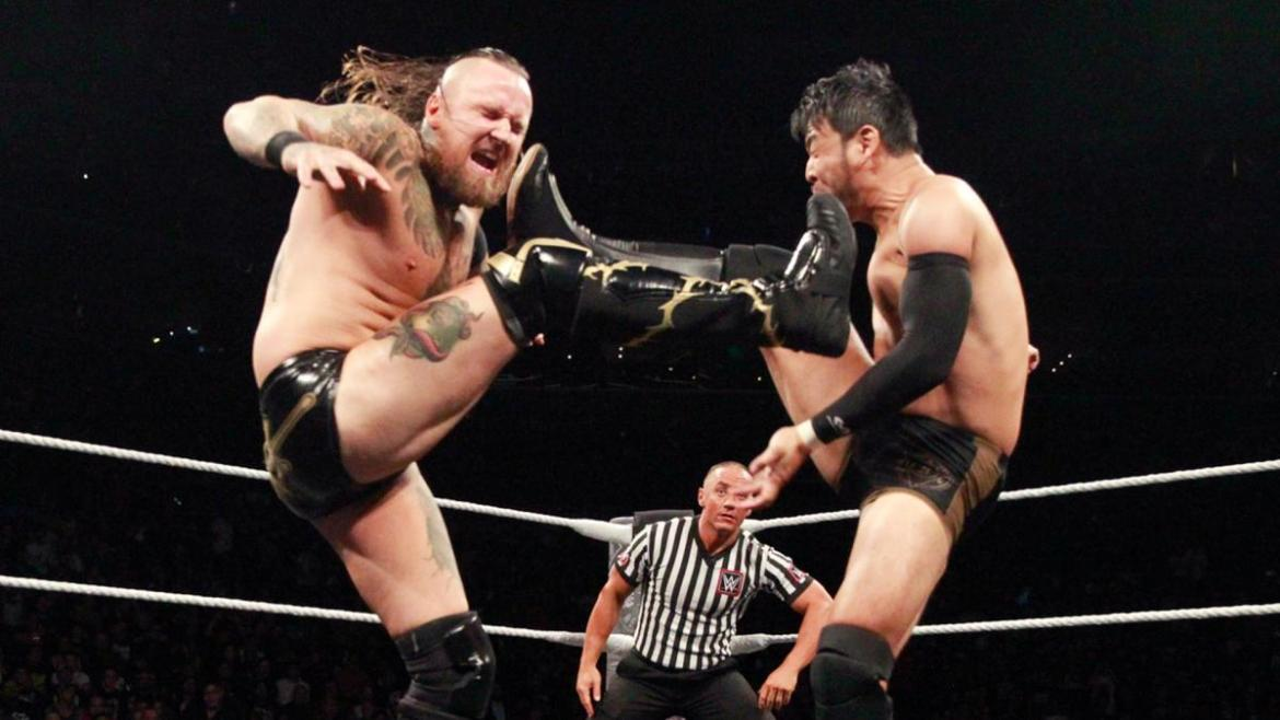 NXT Takeover Brooklyn 3 - Black Itami