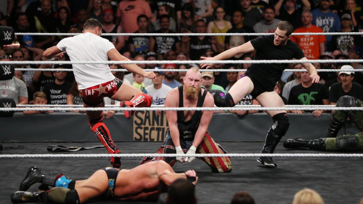 NXT Takeover Brooklyn 3 - ReDragon