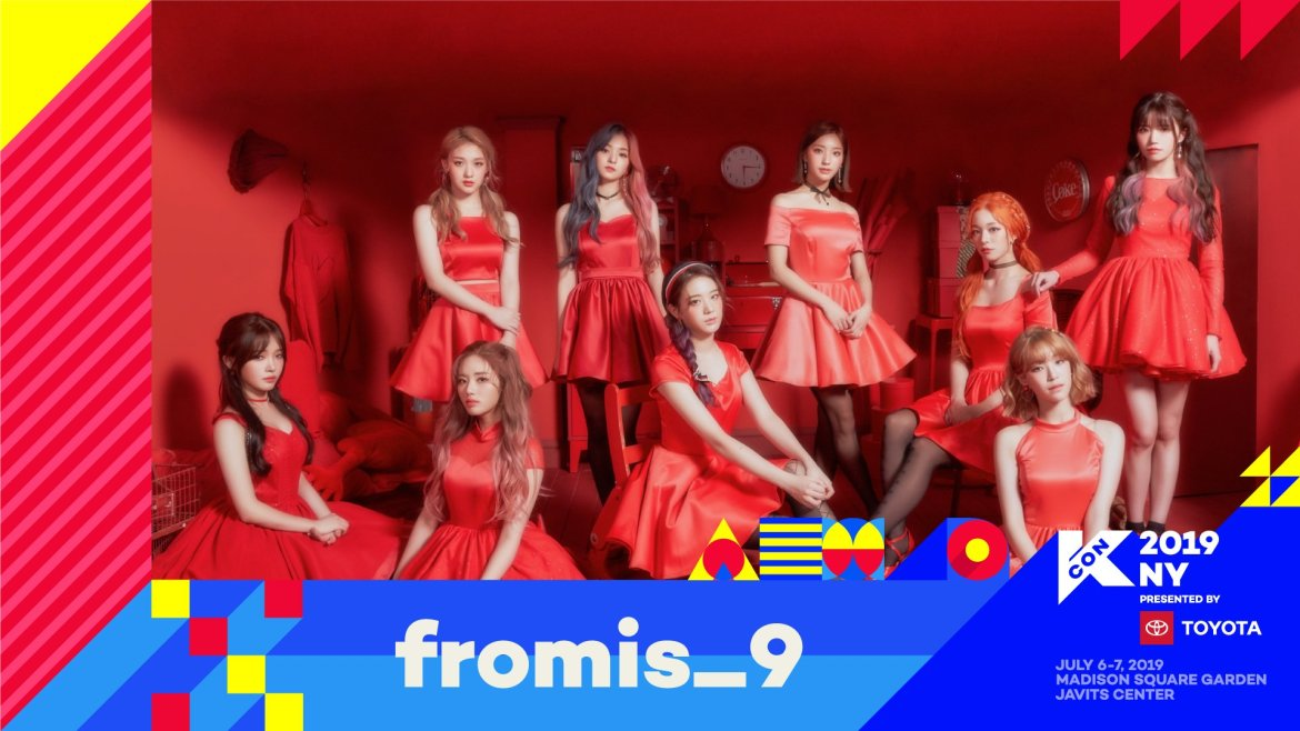 KCON NEW YORK fromis_9