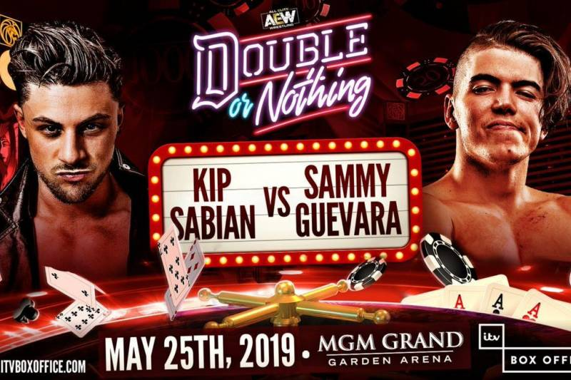 AEW Double Or Nothing - Sabian vs. Guevara