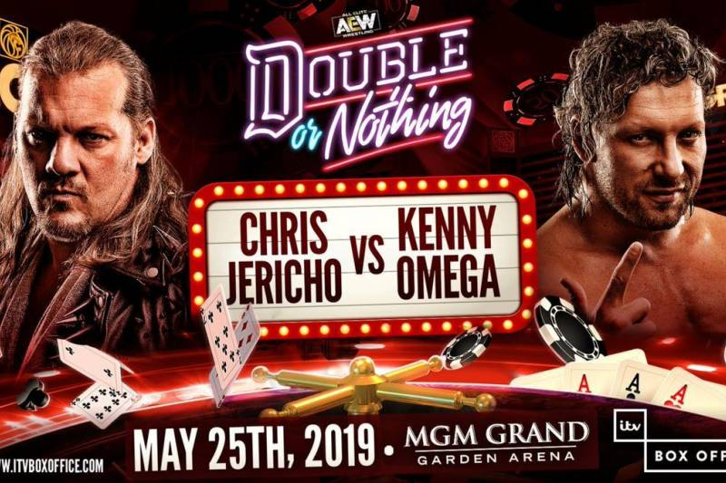 AEW Double or Nothing - Jericho Omega 2