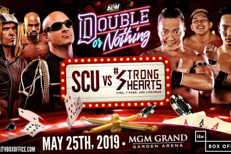 AEW Double or Nothing - SCU Strong Hearts