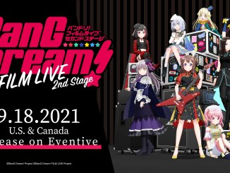 BanG Dream! FILM LIVE 2nd StageSNS