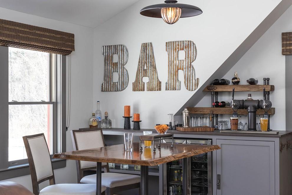 Dry bar cabinets