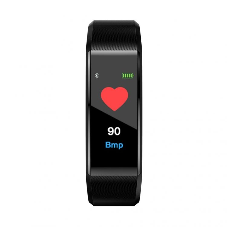 Smart Band Waterproof Sport Pedometer Heart Rate Blood Pressure Monitor