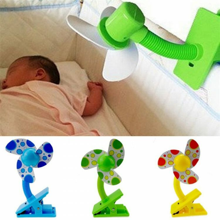 New Summer Stroller Fan Portable Baby Sleeping Care Mini Safety USB Fan