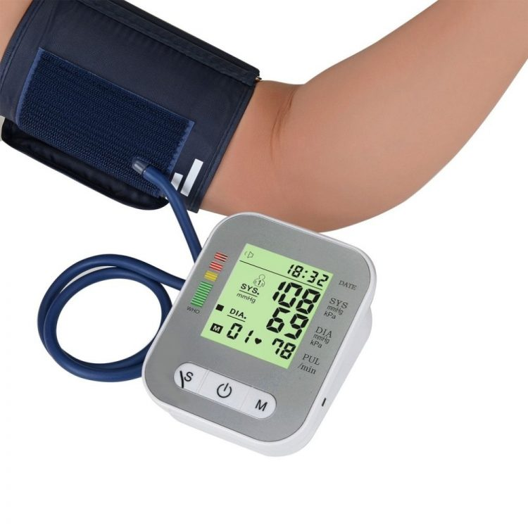 Full-automatic Electric Sphygmomanometer Pulse Heart Rate Monitor