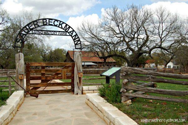Sauer Beckmann Farm entrance