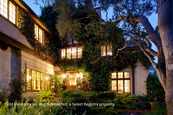 beautiful view of the old monterey inn bed and breakfast