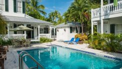 the conch house pool exterior