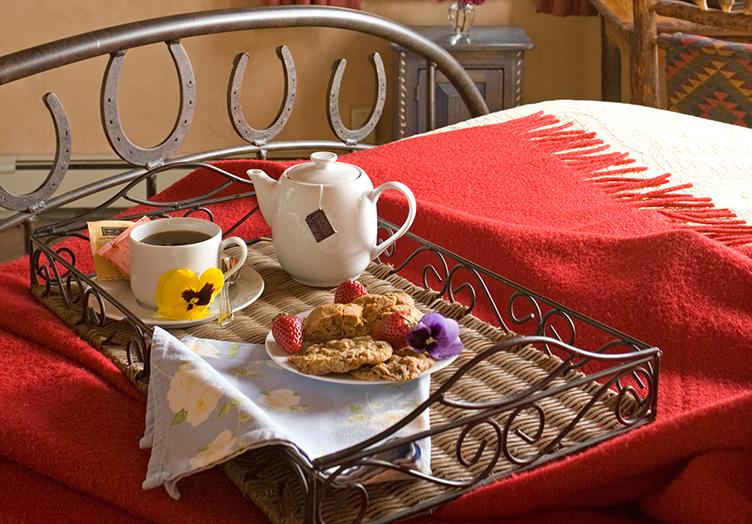 Room Service Breakfast Tray