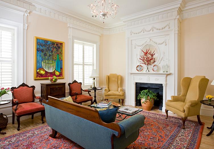 Embassy Fireplace