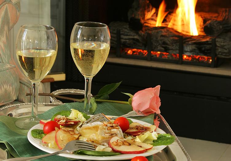 White Doe Inn Wine and Hors d' ouevres