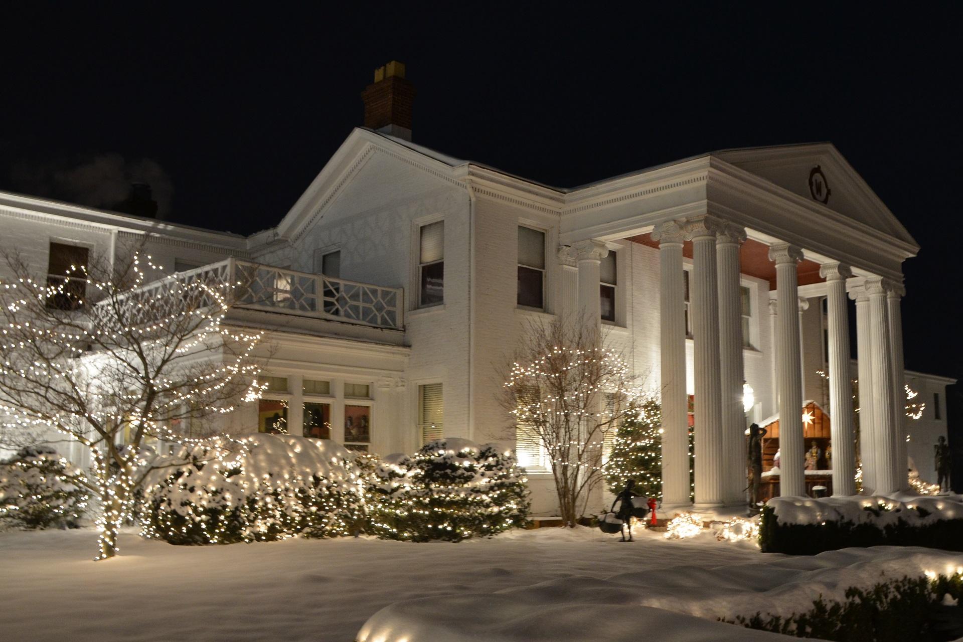 tara a country inn in the winter