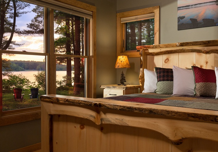 Wolf Cove Guestroom View