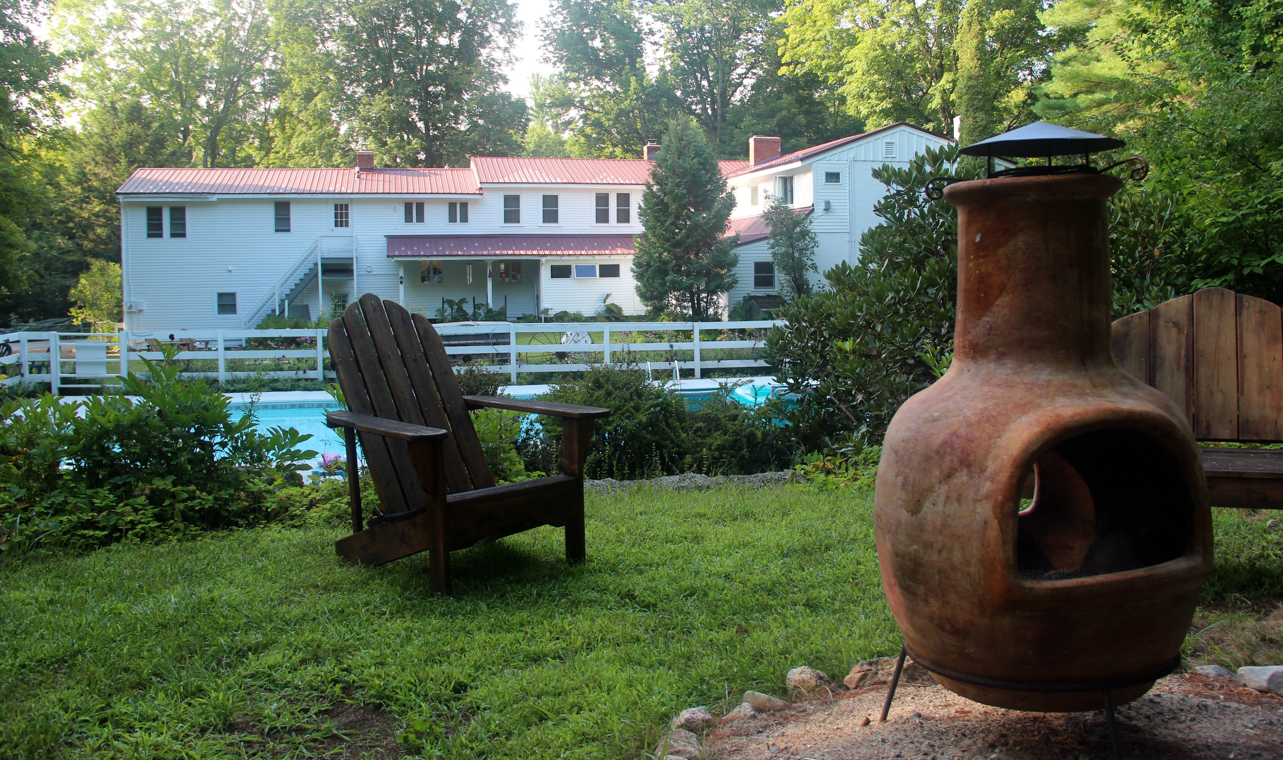 The Buttonwood Inn Backyard
