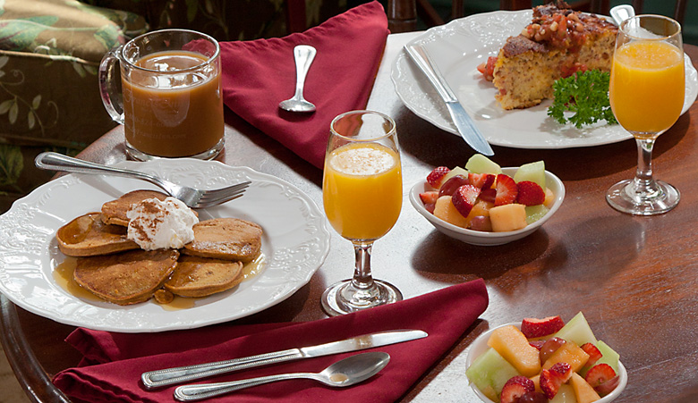 St Francis Inn Breakfast