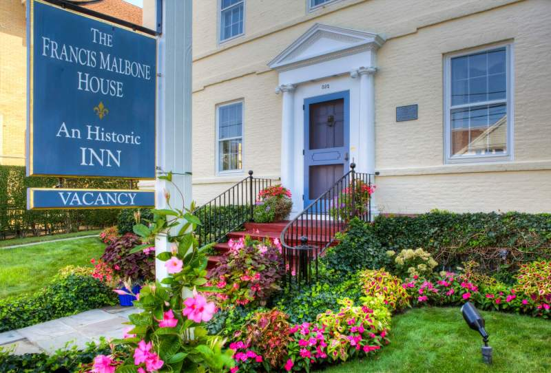 The Francis Malbone House Inn