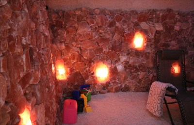 Nature's Salt Cave, Designed & Built By Select Salt
