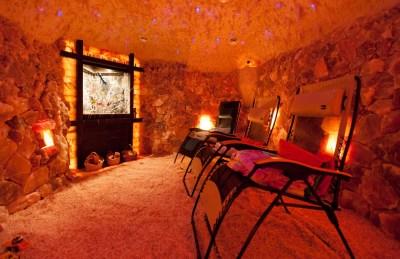 Salt Cave Construction | Man-Made Salt Caves